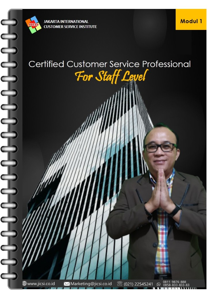 Modul 1 Basic Concept of Customer Service